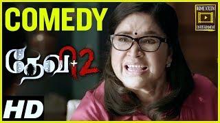 Download Devi 2 Tamil Movie Comedy Scenes | Kovai Sarala | Tamannaah | Prabu Deva | Kovai Sarala Comedy Video