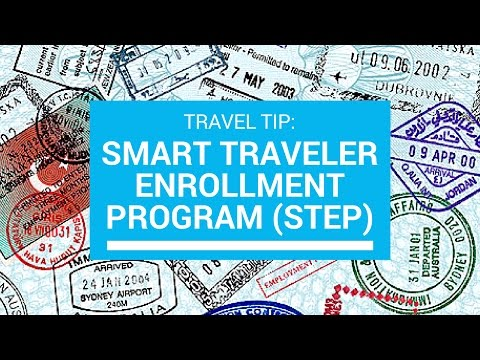 Smart Traveler Enrollment Program (STEP) | Emergency Alerts & Notifications While Traveling