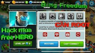 Hack alien creeps mua free HERO (CẦN ROOT)
