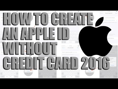 How to create an Apple ID without credit card 2016 -