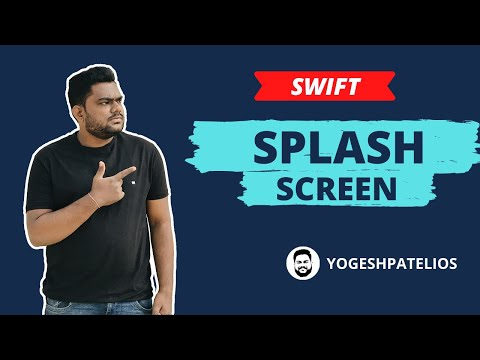 Swift 4 & Xcode 9 :-  How to Set Splash Screen And increase Launch Screen time in iOS Hindi.