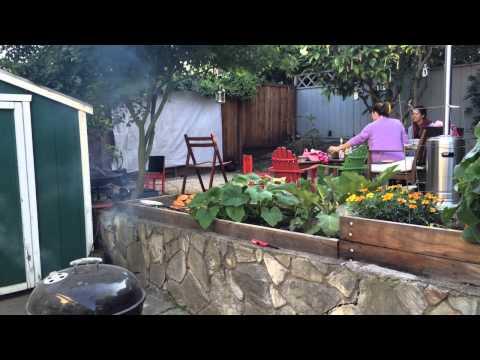 BBQ and Backyard Movie Night