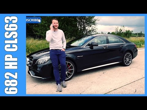 682 HP / 1000 NM Mercedes Benz CLS 63 AMG S Review | DTE Systems (English Subtitles)