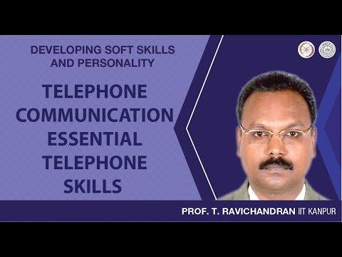 Telephone Communication: Essential Telephone Skills