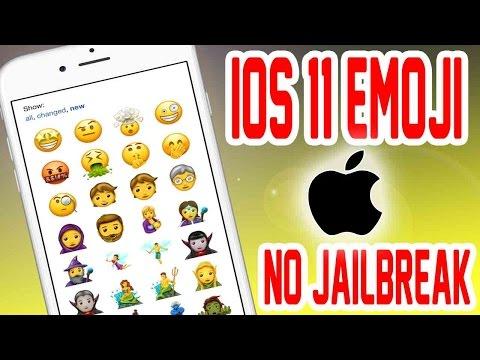 iOS 11 Emojis Now FREE NO JAILBREAK/COMPUTER (69 NEW Unicode Emojis)