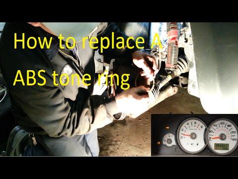Ford Escape Abs Tone Ring Repair C1233 C1234