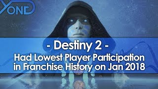 Destiny 2 Had the Lowest Player Participation in Franchise History on January 2018