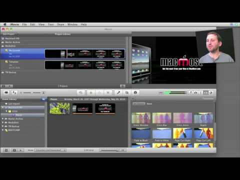 Creating iMovie Templates (MacMost Now 427)