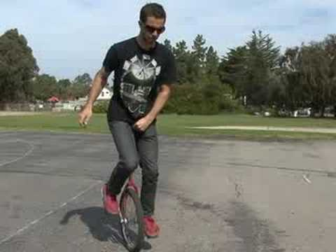 How to Ride a Unicycle : Hopping a Unicycle