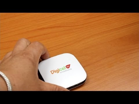 Setting up Wi-Fi on the Digicel 4G MiFi Device || Digicel Jamaica