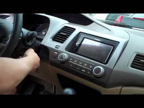Civic Radio Install Double Din, 2006, Amp Bypass