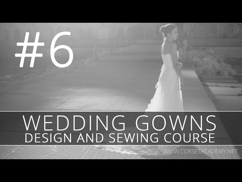 How to make a WEDDING DRESS? #6