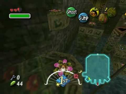 Majora's Mask Walkthrough Part 14 - Woodfall Temple Stray Fairies (4)