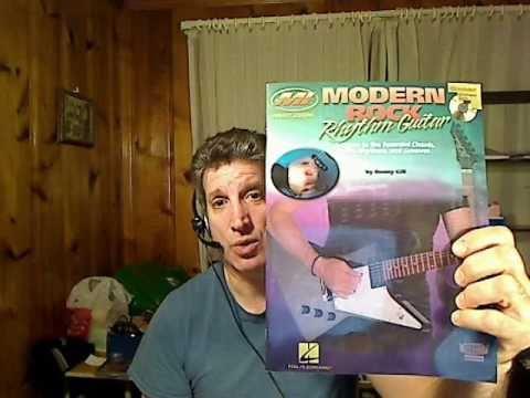 modern rock rhythm guitar book review