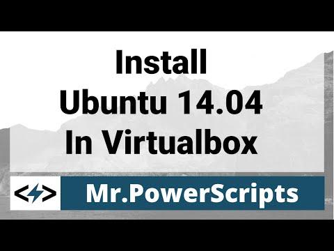 Installing Ubuntu 14.04 in VirtualBox !
