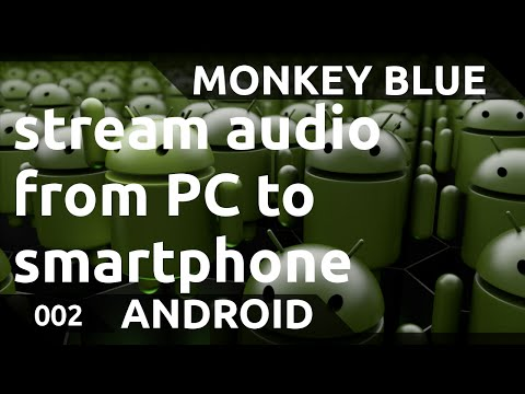 Android: how to stream audio from PC to smartphone with Soundwire