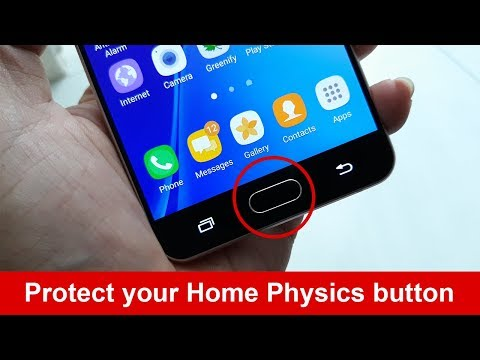 How to protect your Home Physics button