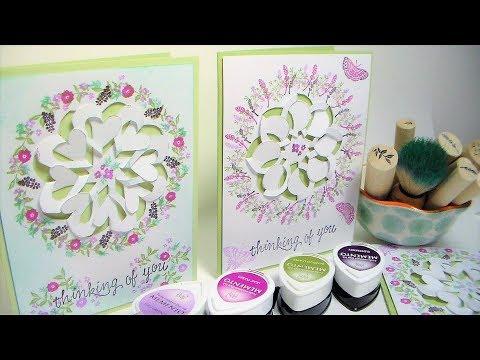 Learn to Make Cut, Fold & Tuck Lattice Wreaths!