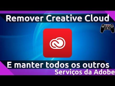 Como remover Creative Cloud e manter todos os outros serviços da Adobe
