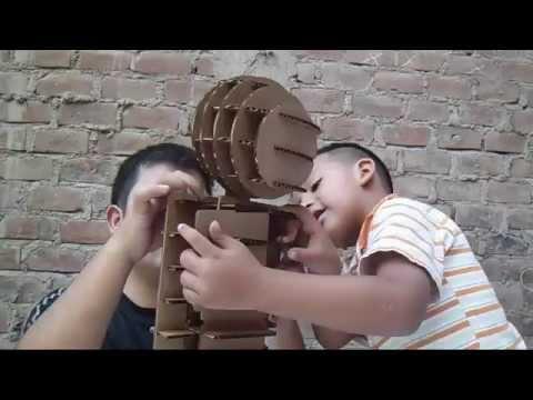 Building a cardboard ROBOT