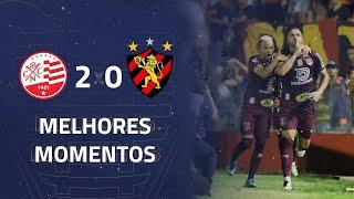 Náutico 2 x 0 Sport | Gols e Melhores Momentos | 4ª rodada | Copa do Nordeste 2020