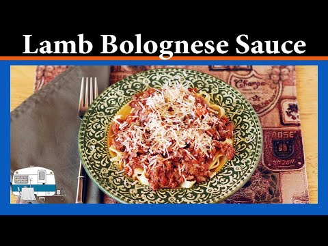 How to make Lamb Bolognese Sauce