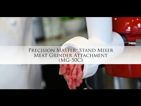 Fresh Spaghetti and Pork Tenderloin Meatballs using the MG-50C Meat Grinder Attachment