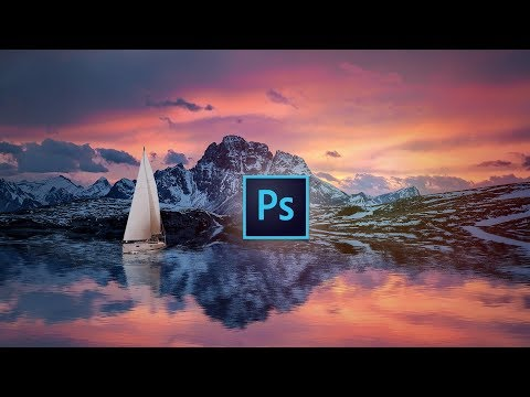 How to make a reflection in PHOTOSHOP | Photoshop Tutorial |TechGenie