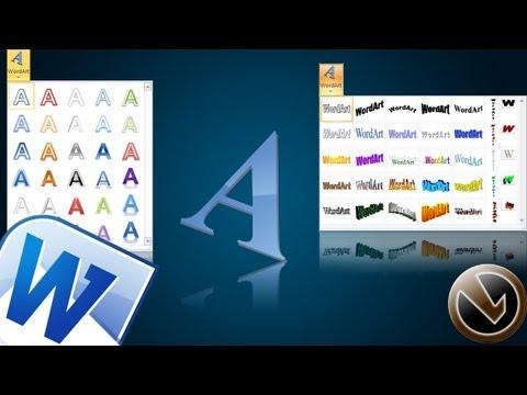 Habilitar WordArt Clásico en MS Office Word 2010 o 2013