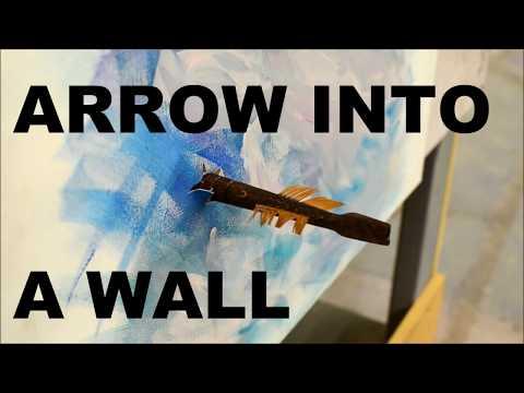 Arrow into a Wall