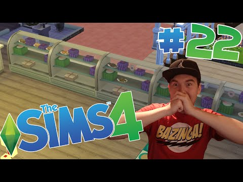The Sims 4 - Part 22 : Get to Work Retail Bakery