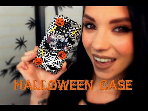 Halloween Themed Phone Case & SPECIAL ANNOUNCEMENT!