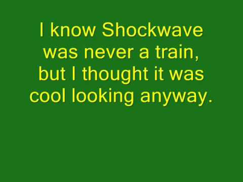 LEGO Transformers: Shockwave Train Stop-Motion