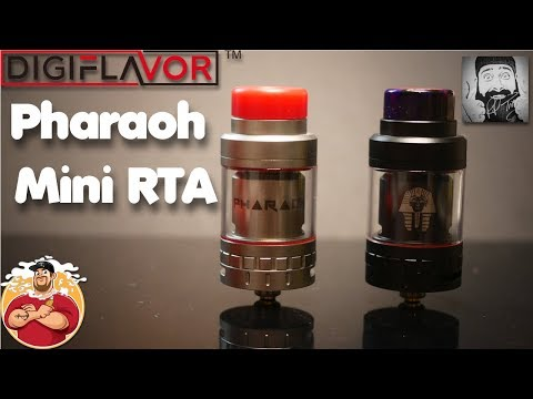 Rip Trippers {Pharaoh Mini RTA} Review/Build/Giveaway Digiflavor