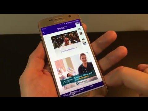 How to Screenshot on the Galaxy S7/S7 edge