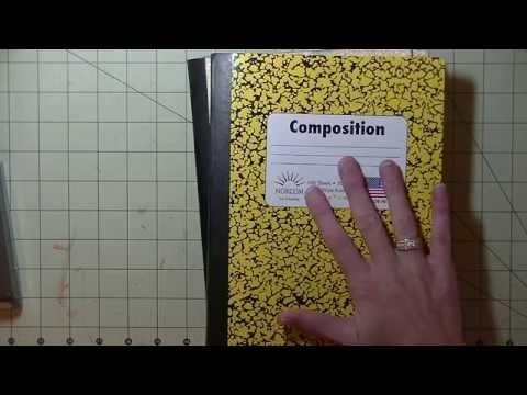 Composition Book Planner