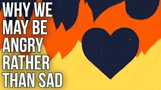 Why We May Be Angry Rather Than Sad