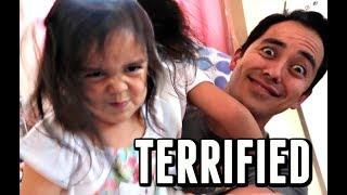 TERRIFIED OF OUR KIDS! -  ItsJudysLife Vlogs