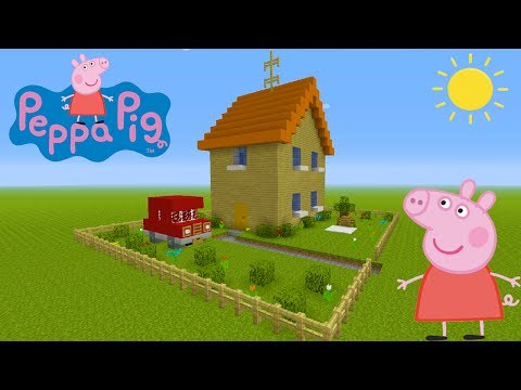 Minecraft Tutorial: How To Make Peppa Pigs House