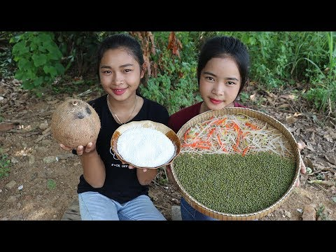 Awesome Cooking Mung Bean Dessert Delicious Recipe - Cook Bean Plant Recipes - Village Food Factory