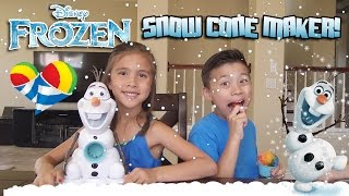 Download Frozen OLAF SNOW CONE MAKER! Summer Treat Making Fun!