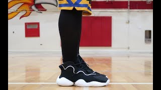 45415f111 HONEST REVIEW OF THE ADIDAS CRAZY BYW LVL 1!!! UNBOXING+REVIEW+ON ...