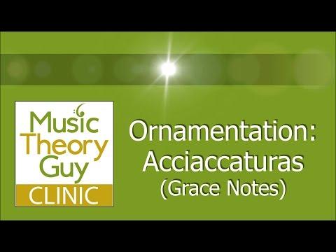 Clinic: Ornamentation - Acciaccaturas (Grace Notes)