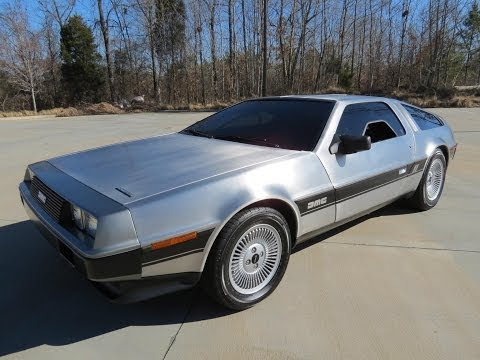 1982 Delorean DMC-12 Start Up, Exhaust, and In Depth Review