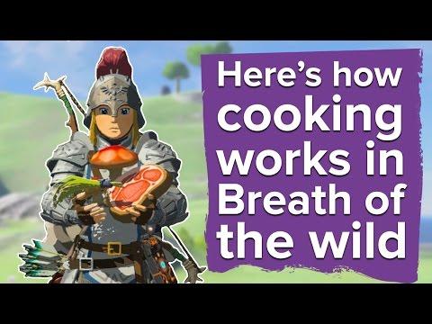 Here's how cooking works in Zelda Breath of the Wild