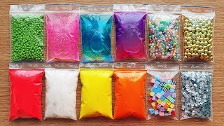 Making Crunchy Slime With Bags - Satisfying Slime Videos #5