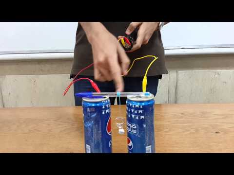 Idea Of Capacitor  Physics Project