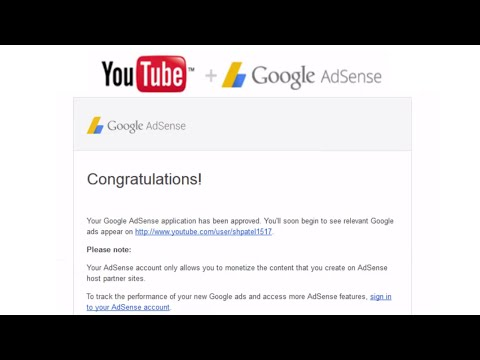How to Setup Google adsense account from Youtube
