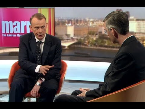 Jacob Rees-Mogg DESTROYS Andrew Marr's Gotcha Questions