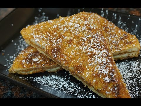 Cookie Butter Crunch French Toast | Light ASMR